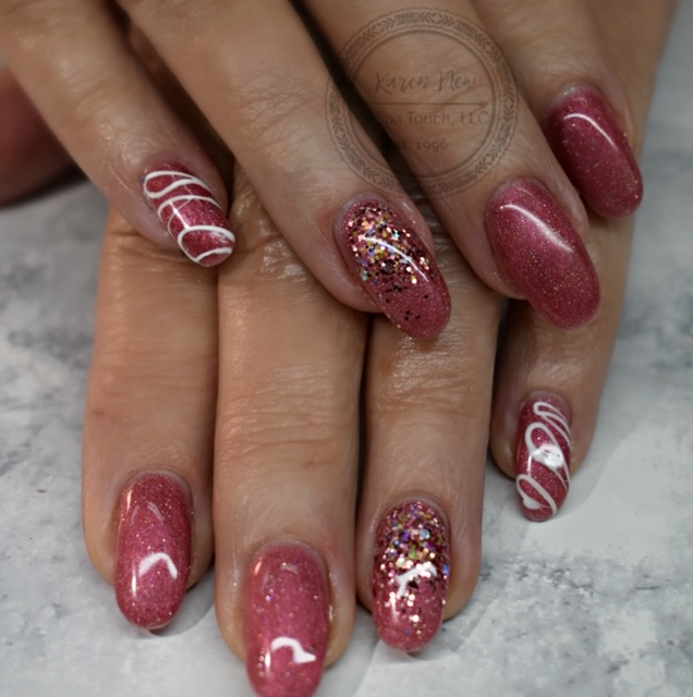 Pink Nails and Designs