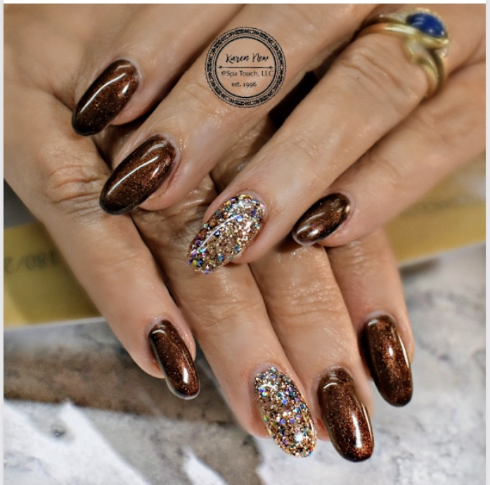 Brown with Sparkles